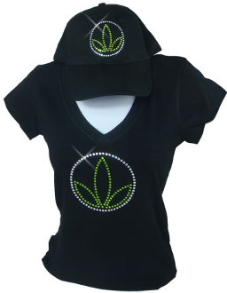 Herbalife Custom Blinged Shirts