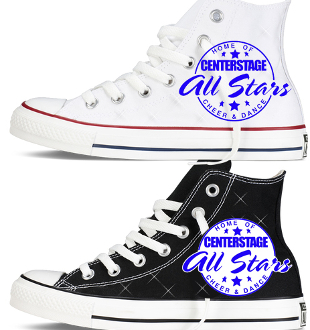Center Stage Allstars Custom Converse