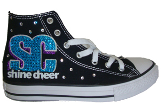 CA Shine Cheer Custom Converse