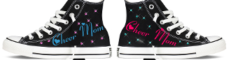 Cheer Mom Custom Converse