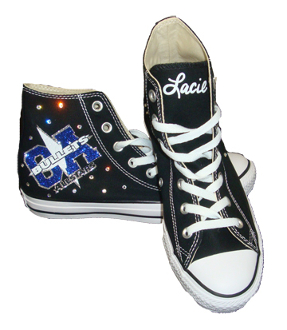 California Allstars Custom Converse