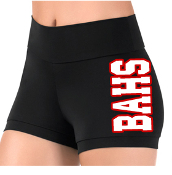 Alemany Dance Boy Shorts - high waist