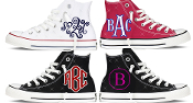 Monogrammed Converse